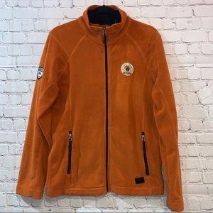 Roots 73 Rustic Orange Deerlake Microfleece Jacket